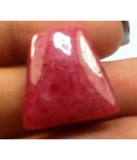 18.37 Carats Rhodonite  19.22 X 18.68 X 4.43 mm
