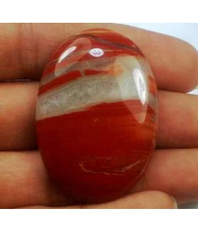 64.62 Carats Red River Jasper 39.91 X 28.22 X 6.66 mm