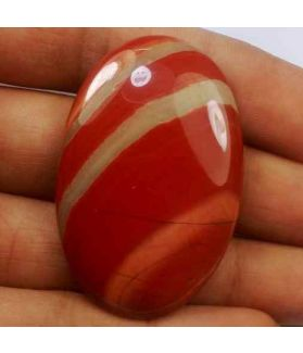 67.17 Carats Red River Jasper 43.00 X 28.29 X 6.30 mm