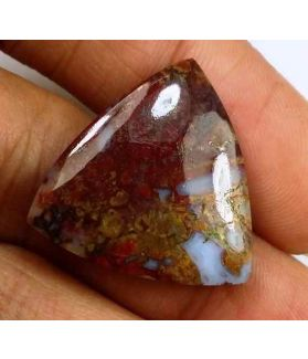 13.72 Carats Plum Root Agate 21.19 X 20.65 X 4.06 mm