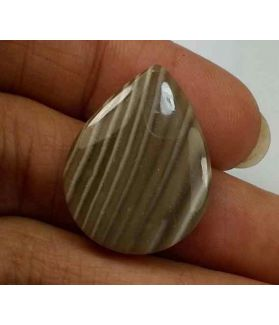 9.74 Carats Striped Flint 24.17 X 18.40 X 3.00 mm