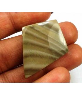 25.96 Carats Striped Flint 33.76 X 26.56 X 4.99 mm