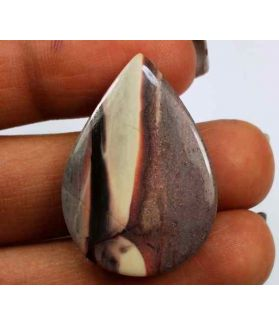 19.39 Carats Porcelain Jasper 19.71 X 20.82 X 3.95 mm