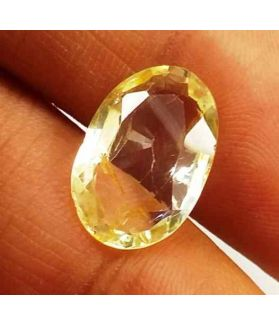 4.91 Carats Yellow Topaz 14.02 X 9.17 X 4.44 mm