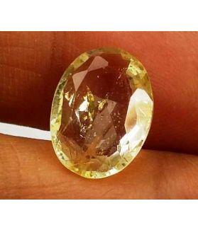 4.95 Carats Yellow Topaz 12.89 X 9.45 X 4.51 mm