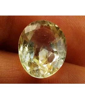 6.85 Carats Yellow Topaz 12.98 X 10.17 X 7.28 mm
