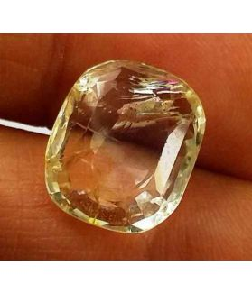 7.37 Carats Yellow Topaz 13.24 X 11.12 X 4.87 mm