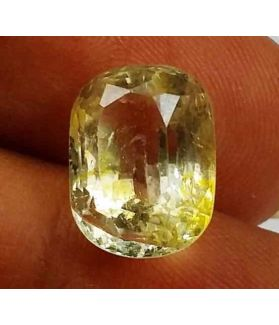 5.67 Carats Yellow Topaz 11.99 X 8.62 X 6.56 mm