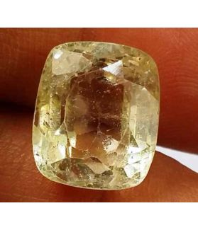 8.75 Carats Yellow Topaz 11.99 X 10.08 X 7.54 mm