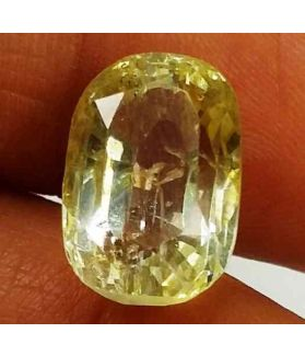 9.10 Carats Yellow Topaz 13.35 X 9.00 X 7.84 mm
