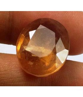 18.00 Carats African Padparadscha Sapphire 16.02 X 13.50 X 7.38 mm
