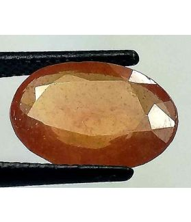 5.7 Carats African Padparadscha Sapphire 12.90 x 9.18 x 4.40 mm
