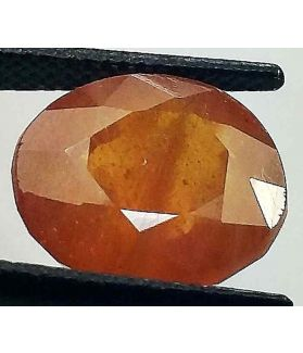 8.77 Carats African Padparadscha Sapphire 12.45 x 10.85 x 6.50 mm