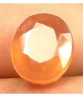 8.94 Carats African Padparadscha Sapphire 11.75 x 10.00 x 6.50 mm