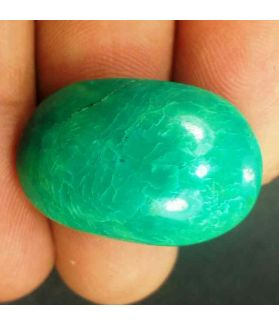 25.5 Carats Turquoise 27.65 x 18.10 x 9.67 mm