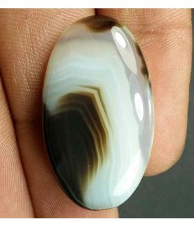 29.41 Carats Agate 32.10 x 17.50 x 6.27 mm
