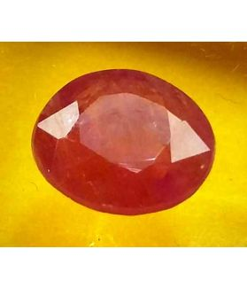 3.70  Carats Guinea Mines Ruby 9.96 x 8.63 x 4.43 mm