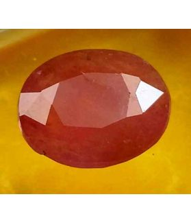 3.78 Carats Guinea Mines Ruby 10.72 x 9.12 x 4.08 mm