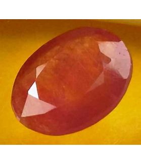 3.96 Carats Guinea Mines Ruby 11.09 x 8.62 x 4.31 mm