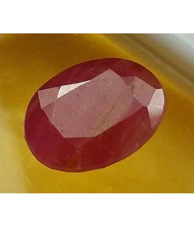 4.07 Carats Guinea Mines Ruby 10.77 x 8.38 x 4.61 mm