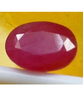 3.49 Carats Guinea Mines Ruby 9.70 x 7.45 x 4.25 mm