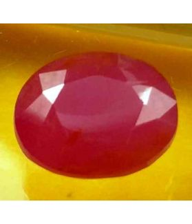 3.85 Carats Guinea Mines Ruby 10.08 x 8.00 x 4.78 mm