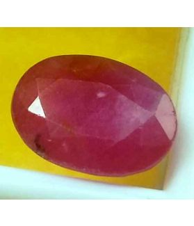 4.19 Carats Guinea Mines Ruby 10.86 x 7.88 x 4.83 mm