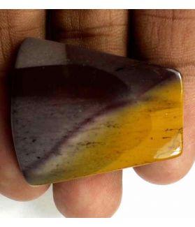 41.25 Carats Australian Mookaite 33.29 x 29.36 x 5.15 mm