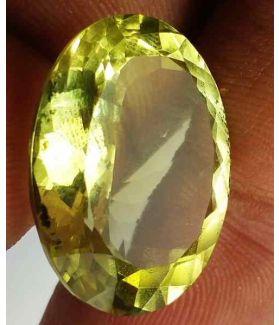 30.5 Carats Lemon Quartz 23.20 x 17.39 x 12.26 mm