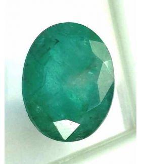 6.32 Carats Green Columbian Emerald 12.10 x 8.95 x 4.77 mm