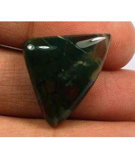 14.3 Carats Blood Stone 22.88 x 16.69 x 6.25 mm