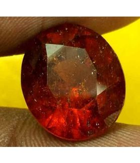 9.95 Carats Ceylon Hessonite 13.26 x 11.51 x 8.77 mm