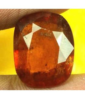13.32 Carats Ceylon Hessonite 15.29 x 12.44 x 7.15 mm
