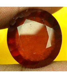 15.27 Carats Ceylon Hessonite 15.23 x 14.08 x 7.99 mm