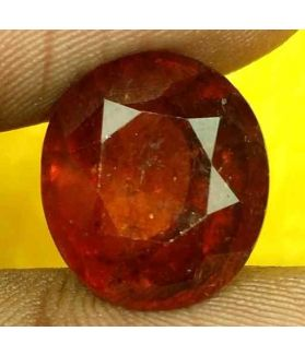 9.53 Carats Ceylon Hessonite 13.03 x 11.70 x 8.33 mm