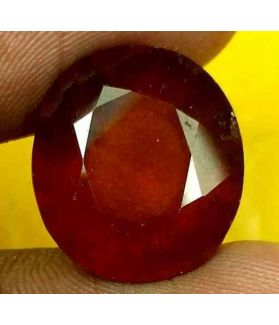 15.03 Carats Ceylon Hessonite 16.04 x 14.36 x 8.79 mm