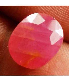 2.75 Carats Burma Ruby 9.51 x 7.84 x 3.55 mm