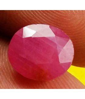 2.96 Carats Burma Ruby 8.74 x 7.65 x 4.26 mm