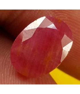 3.95 Carats Burma Ruby 10.84 x 8.05 x 4.34 mm
