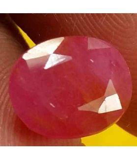 3.35 Carats Burma Ruby 9.10 x 7.54 x 4.55 mm