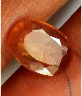 6.15 Carats Yellow Sapphire 13.79 x 9.93 x 3.59 mm
