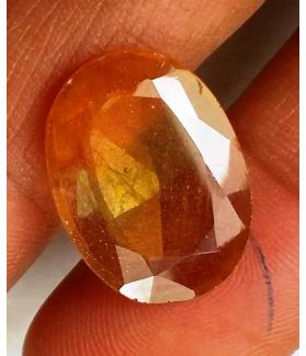 8.74 Carats Yellow Sapphire 16.94 x 12.81 x 3.58 mm
