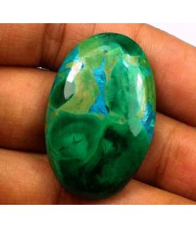 40.74 Carats Chrysocolla 32.06 x 20.71 x 6.30 mm