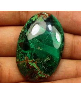 57.69 Carats Chrysocolla 34.98 x 23.28 x 6.16 mm