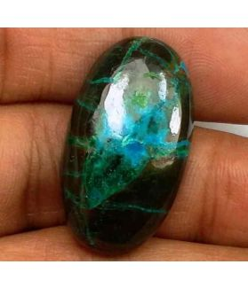 26.27 Carats Chrysocolla 25.86 x 14.61 x 6.30 mm