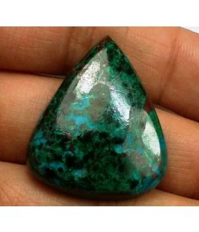 41.47 Carats Chrysocolla 29.15 x 24.78 x 6.42 mm