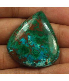 50.57 Carats Chrysocolla 33.36 x 30.68 x 6.20 mm