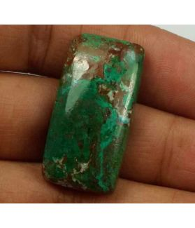 30.76 Carats Chrysocolla 28.86 x 14.82 x 6.11 mm