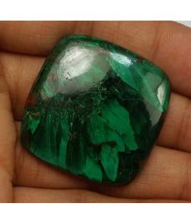 69.4 Carats Chrysocolla 31.28 x 30.71 x 5.17 mm