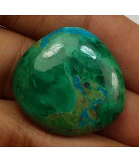 30.39 Carats Chrysocolla 24.09 x 23.53 x 6.29 mm